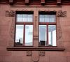 Fenster mit Jugendstildeko