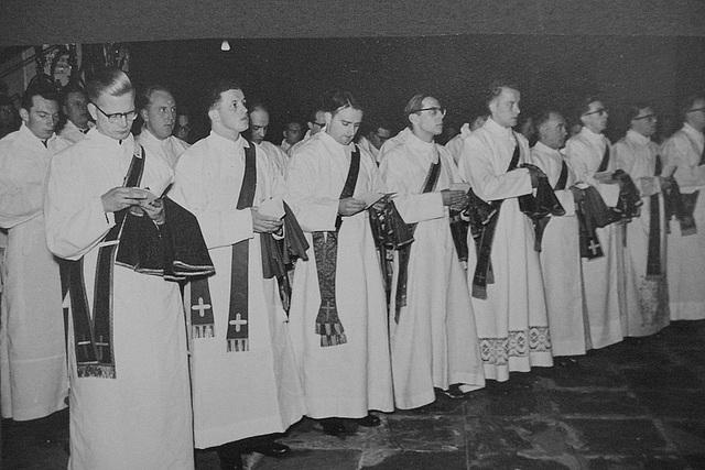 Priesterweihe am 25.7.1958 im Hohen Dom