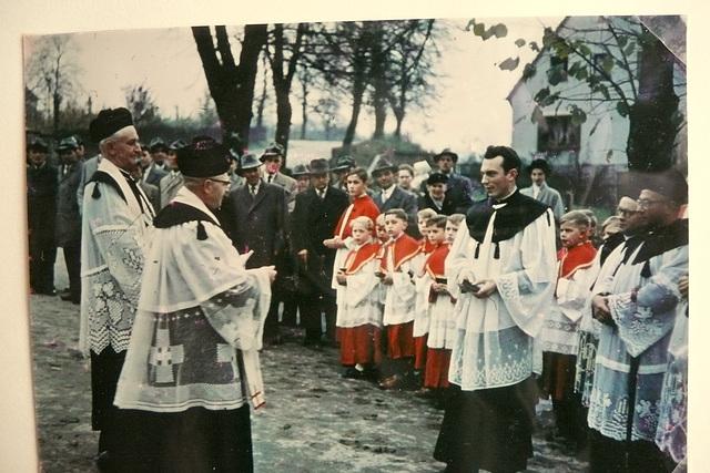 Amtseinführung eines Pfarrers in Balve 1958 - Sauerland