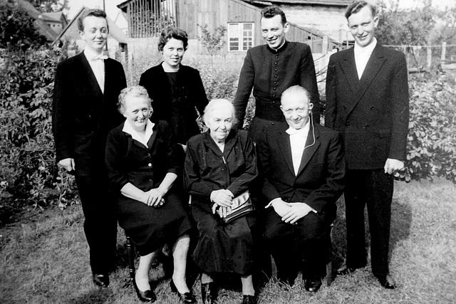 Meine Familie am 3.8.1958