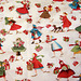 "Retro ""Holiday Rush"" fabric"