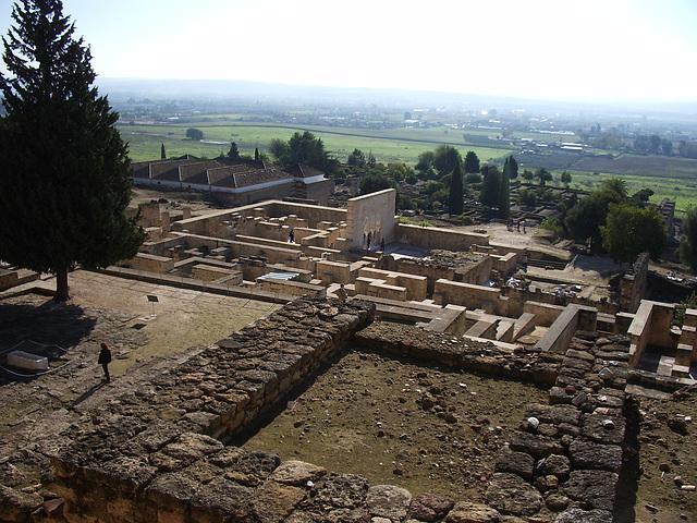 Ĝenerala vido de Medina Azahara