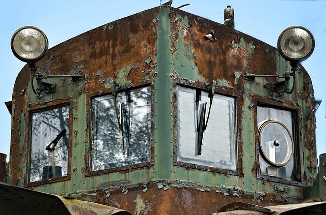 Snowplow Locomotive
