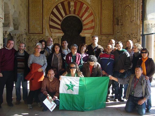 Komuna fotado en Medina Azahara