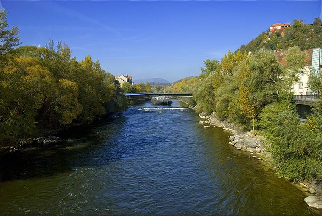 2 hours in Graz - 041 - River Mur