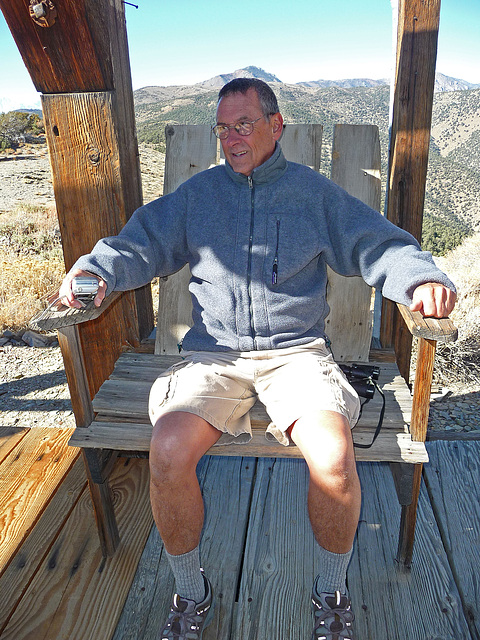 Pat In The Salt Tram Commander's Chair (1836)