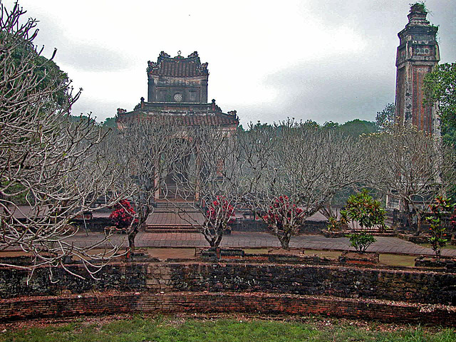 In the park of the Tự Đức Tomb