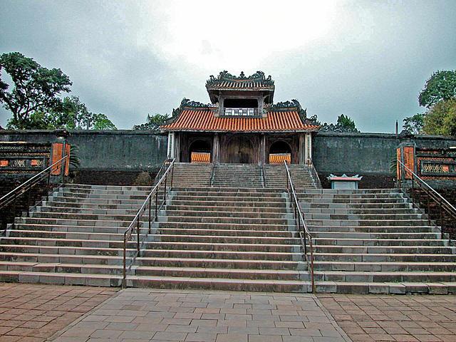 Stairs to the Tự Đức Tomb