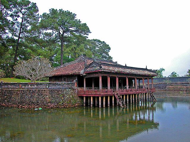 Xung Khiem Pavilion in the Tự Đức Mausoleum complex