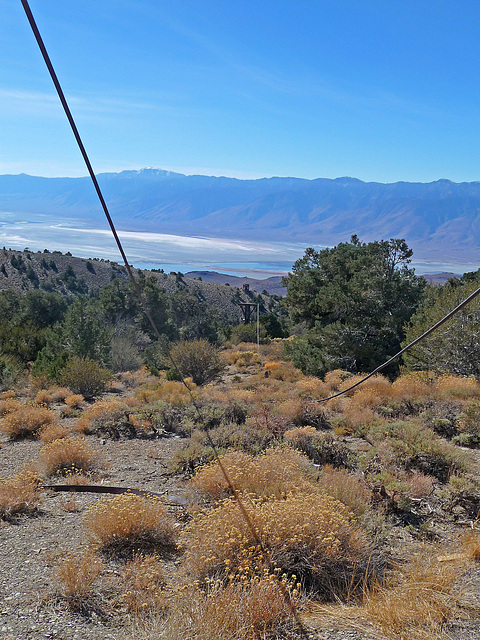 Salt Tram Transfer Point View Of Owens Valley (1804)