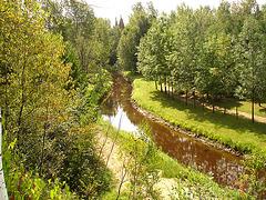 Solitude Ste-Françoise - Québec. CANADA - 20 août 2006 / The river - La rivière