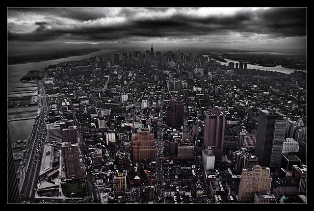 Dark Clouds Over Manhattan