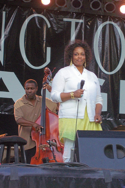 The beautiful  and talented Dianne Reeves