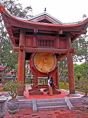 The big drum in the Văn Miếu complex