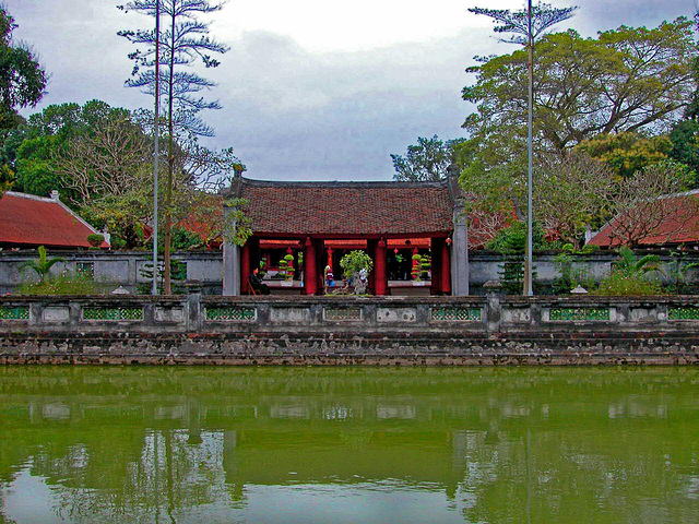 Văn Miếu, the Temple of Literature