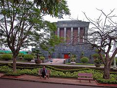 Ho Chi Minh Mausoleum backside