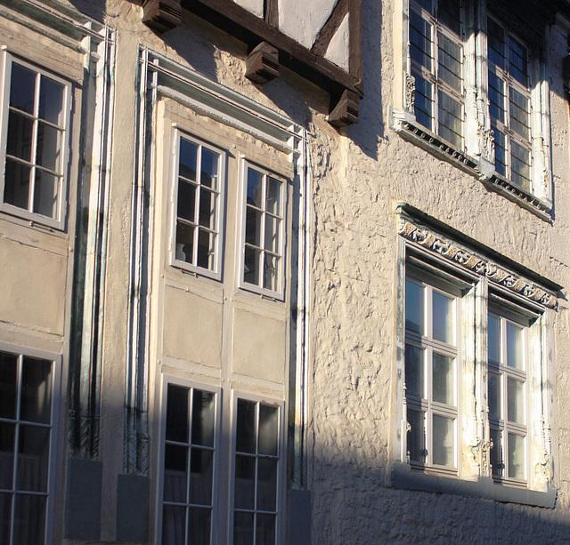 Renaissancefenster aus dem Jahre 1518