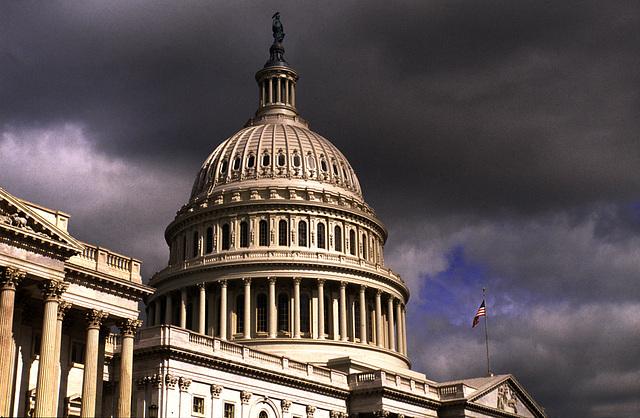 Auch das Capitol ist innen hohl