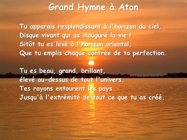 Grand hymne à Aton