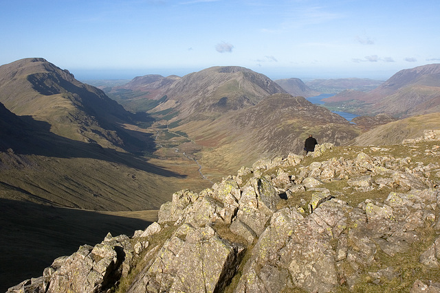 Ennerdale and Buttermere From Green Gable