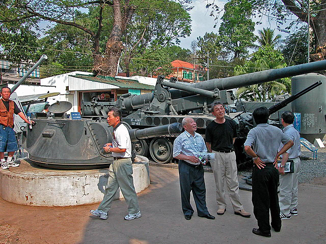 The War Remnants Museum in Saigon