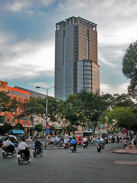 Le Loi Boulevard in Saigon