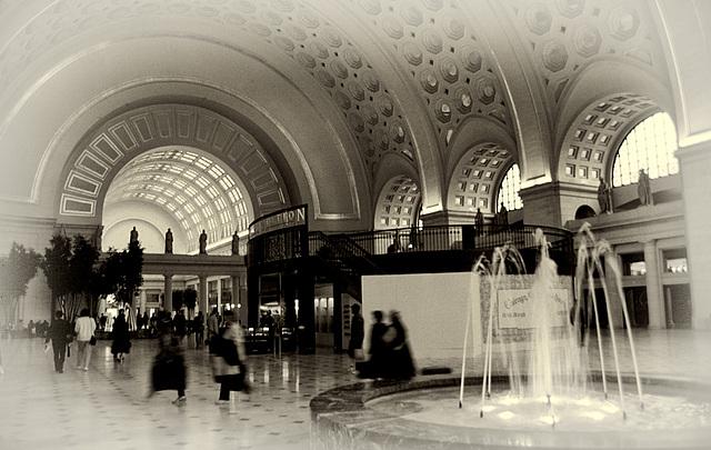 Washington DC Railway Station