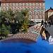 2 hours in Graz - 043 - Mur bridge reflection