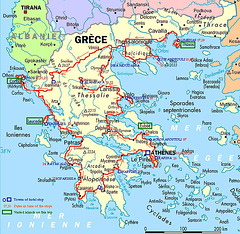 June 2007 Greece Trip Itinerary