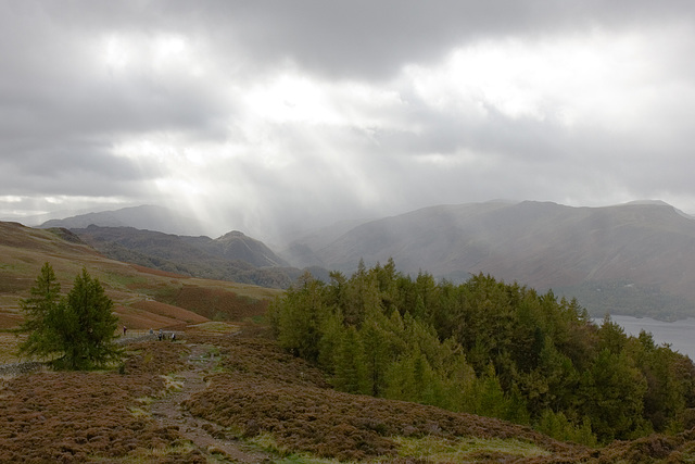 Shower over Borrowdale