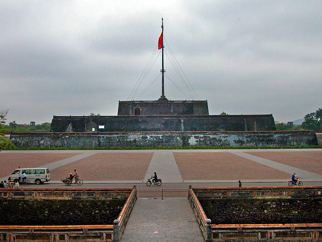 The citadel in Huế