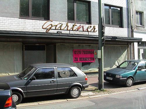 Kunstraum Gartners lange nach der Schliessung