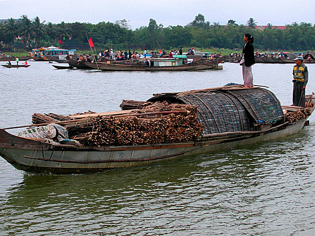 Simple barge transport