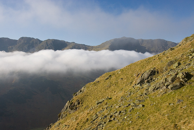 Langdale Clouds Clearing I