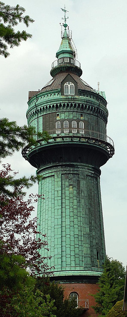Wasserturm in Hamburg