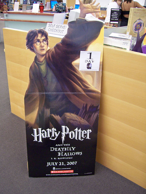 Harry Potter release poster