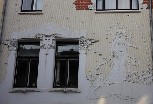 Jugendstilhaus Körtge erbaut 1903