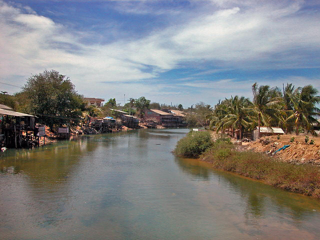 Ca Ty river at Phan Thiết