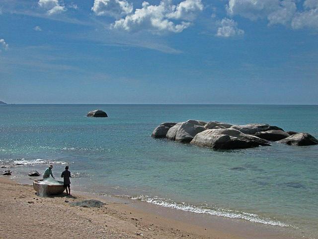 Cana beach  near Nha Trang
