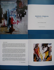 """Magic Spaces"",  Painting Exhibition by Abílio Marcos, 2007, catalogue"