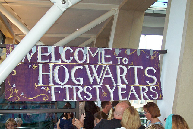 Hogwarts welcomes first years