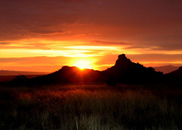 San Pedro Valley Sunset