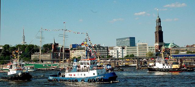 Schlepperballett in Hamburg 2008