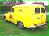 Yellow Martini Volvo on the grass / Volvo martini jaune sur pelouse
