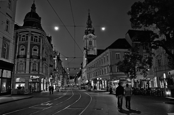 Night in Graz