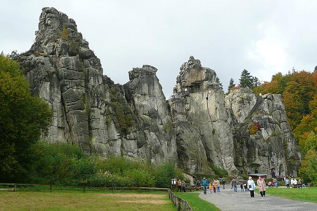Die Externsteine - ein altes germanisches und christliches Heiligtum