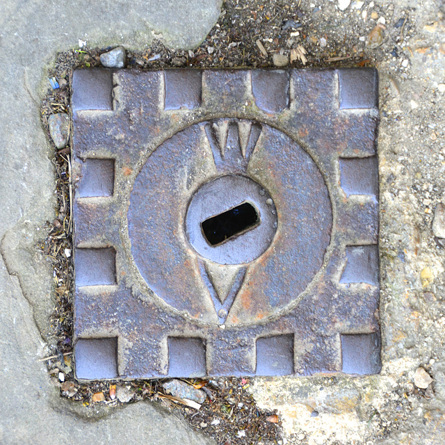 Blenheim Palace – Water mains access cover