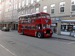 London doubledecker bus - in Denmark!