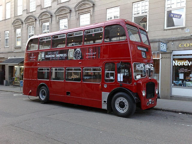 London doubledecker bus - in Denmark!