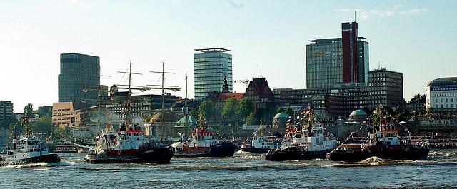 Schlepperballett 2008 in Hamburg